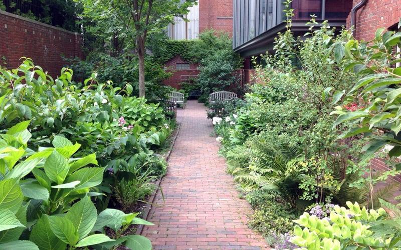 The Longfellow House Garden